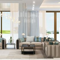 Modern Living Room Design With Luxury Details