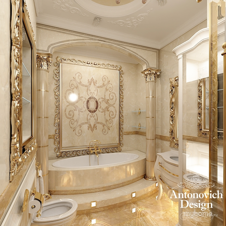 Antonovich design for Bathroom ideas 1920s home